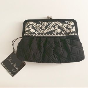Vera Bradley Black Quilted Purse